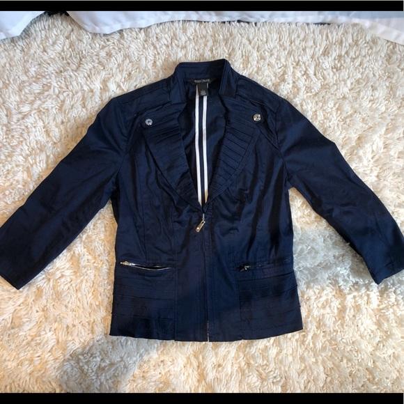 White House Black Market Jackets & Blazers - Navy Blazer - Worn Once